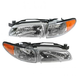 1ALHP00008-1997-03 Pontiac Grand Prix Headlight Pair