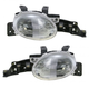 1ALHP00003-1995-99 Dodge Neon Plymouth Neon Headlight Pair