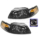 1ALHP00019-1999-04 Ford Mustang Headlight Pair