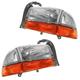 1ALHP00017-Dodge Dakota Durango Headlight Pair