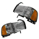 1ALHP00012-Dodge Headlight Pair