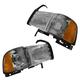 1ALHP00012-Dodge Headlight Pair
