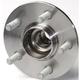 1ASHR00042-Wheel Bearing & Hub Assembly Rear
