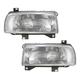 1ALHP00035-Volkswagen Jetta Headlight Pair