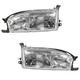 1ALHP00034-1992-94 Toyota Camry Headlight Pair