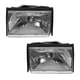1ALHP00055-1987-93 Ford Mustang Headlight Pair