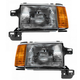 1ALHP00062-1987-91 Ford Headlight Pair