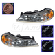 1ALHP00079-1998-00 Mercury Mystique Headlight Pair