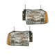 1ALHP00071-1995-97 Chevy Blazer S10 Headlight Pair