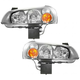 1ALHP00088-2002-03 Nissan Maxima Headlight Pair