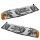 1ALHP00092-1998-02 Lincoln Town Car Headlight Pair