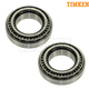 TKSHS00731-Wheel Bearing Rear Pair  Timken SET45