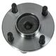 1ASHR00107-Wheel Bearing & Hub Assembly