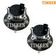 TKSHS00752-Volvo Wheel Bearing & Hub Assembly Rear Pair  Timken HA590322
