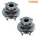 TKSHS00750-2003-06 Pontiac Vibe Toyota Matrix Wheel Bearing & Hub Assembly Rear Pair  Timken HA590002