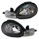 1ALHP00107-2000-02 Dodge Neon Plymouth Neon Headlight Pair