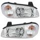 1ALHP00133-2000-01 Nissan Maxima Headlight Pair