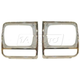 1ALHP00146-1997-01 Jeep Cherokee Headlight Bezel Pair