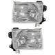 1ALHP00110-Nissan Frontier Xterra Headlight Pair