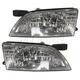 1ALHP00114-1998-99 Nissan Altima Headlight Pair