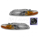 1ALHP00129-1996-00 Chrysler Sebring Headlight Pair