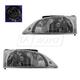 1ALHP00122-2000-02 Chevy Cavalier Headlight Pair