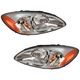 1ALHP00178-Ford Taurus Headlight Pair