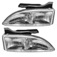 1ALHP00177-1995-99 Chevy Cavalier Headlight Pair