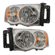 1ALHP00176-Dodge Headlight Pair