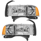 1ALHP00171-Dodge Headlight Pair