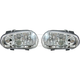 1ALHP00185-Volkswagen Cabrio Golf Headlight Pair Hella 963711051  963711061