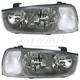 1ALHP00180-2001-03 Hyundai Elantra Headlight Pair