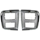 1ALHP00151-1985-91 Chevy Van G-Series GMC Van Headlight Bezel Pair