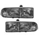 1ALHP00155-Chevy Blazer S10 S10 Pickup Headlight Pair