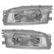 1ALHP00191-1997-01 Mitsubishi Mirage Headlight Pair