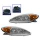 1ALHP00196-2002-04 Toyota Camry Headlight Pair