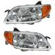 1ALHP00198-2001-03 Mazda Protege Headlight Pair