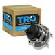 1ASHR00247-Wheel Bearing & Hub Assembly Rear Driver or Passenger Side  TRQ BHA54343
