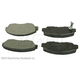 BABPS00009-OE Replacement Brake Pad Set Front Beck / Arnley 089-1367