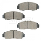 BABPS00002-OE Replacement Brake Pad Set Front Beck / Arnley 089-1574