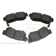 BABPS00021-OE Replacement Brake Pad Set Rear Beck / Arnley 089-1672