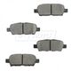 BABPS00015-OE Replacement Brake Pad Set Rear Beck / Arnley 089-1687