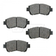 BABPS00011-OE Replacement Brake Pad Set Front Beck / Arnley 089-1379