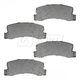 BABPS00018-OE Replacement Brake Pad Set Rear  Beck / Arnley 089-1311