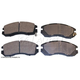 BABPS00045-OE Replacement Brake Pad Set Front Beck / Arnley 089-1381