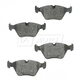 BABPS00030-OE Replacement Brake Pad Set Front Beck / Arnley 089-1554