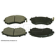 BABPS00066-OE Replacement Brake Pad Set Front Beck / Arnley 089-1364