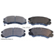 BABPS00065-OE Replacement Brake Pad Set Front Beck / Arnley 089-1475