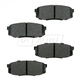 BABPS00064-OE Replacement Brake Pad Set Rear