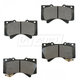 BABPS00063-OE Replacement Brake Pad Set Front  Beck / Arnley 089-1791
